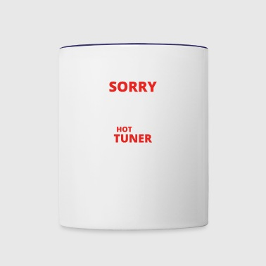 GIFT SORRY THIS GIRL TAKEN TUNER - Contrast Coffee Mug
