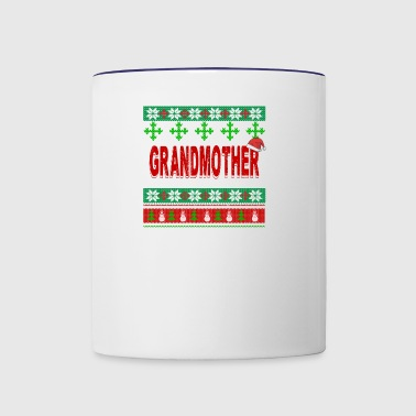 Just Spend Christmas Day With My Grandmother - Contrast Coffee Mug