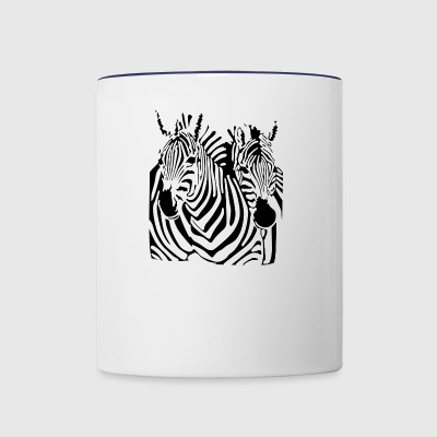 Flight Conchords Zebra - Contrast Coffee Mug