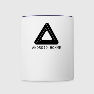 Android Homme - Contrast Coffee Mug