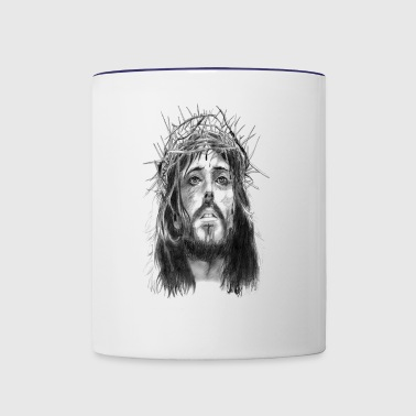 jesus christ - Contrast Coffee Mug
