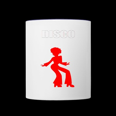 DISCO - Contrast Coffee Mug