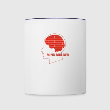 mind builder - Contrast Coffee Mug