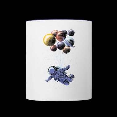 Space Travel - Contrast Coffee Mug
