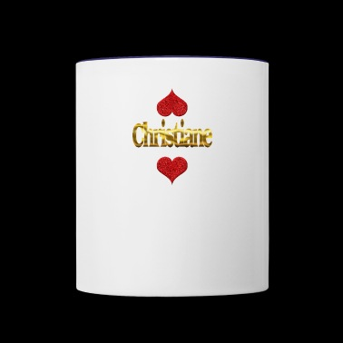 Christiane - Contrast Coffee Mug