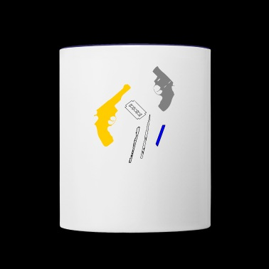 cocain - Contrast Coffee Mug