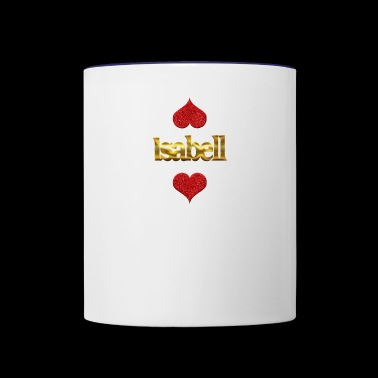 Isabell - Contrast Coffee Mug