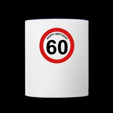 60th birthday - Contrast Coffee Mug