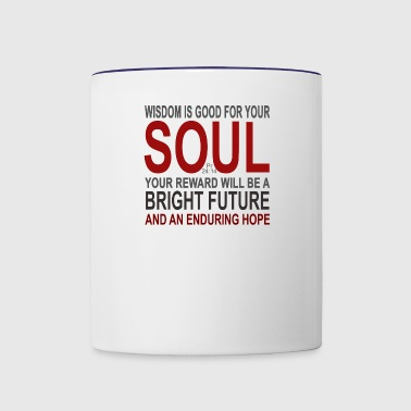 BRIGHT FUTURE - Contrast Coffee Mug