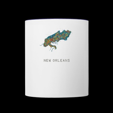 new orleans water - Contrast Coffee Mug