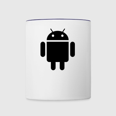 android - Contrast Coffee Mug