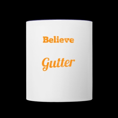 i can't believe it's no gutter - gift for bowling - Contrast Coffee Mug