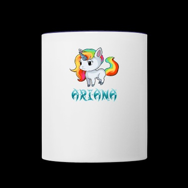 Ariana Unicorn - Contrast Coffee Mug