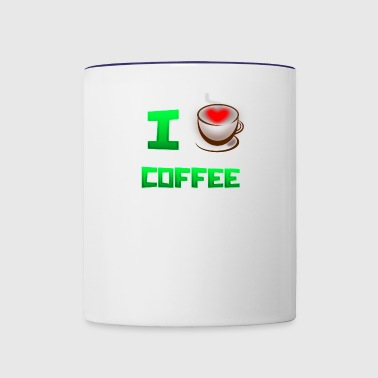 I (HEART) COFFEE - Contrast Coffee Mug