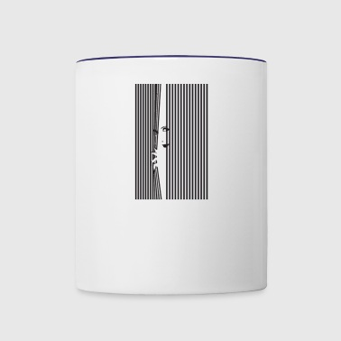 window - Contrast Coffee Mug