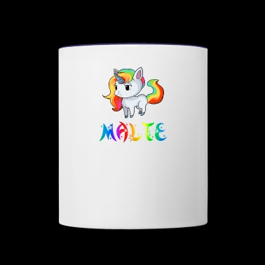 Malte Unicorn - Contrast Coffee Mug