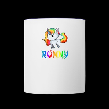 Ronny Unicorn - Contrast Coffee Mug