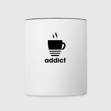 addict - Contrast Coffee Mug