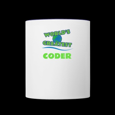 CODER - Contrast Coffee Mug
