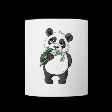 Panda Alan - Contrast Coffee Mug