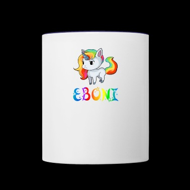 Eboni Unicorn - Contrast Coffee Mug
