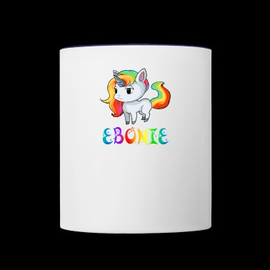 Ebonie Unicorn - Contrast Coffee Mug