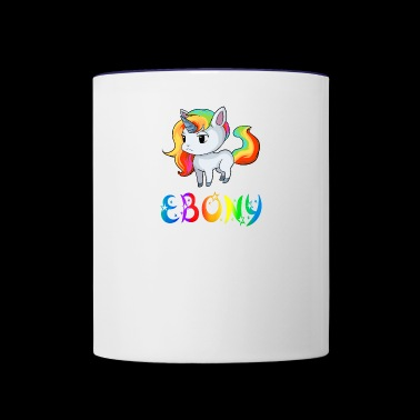 Ebony Unicorn - Contrast Coffee Mug