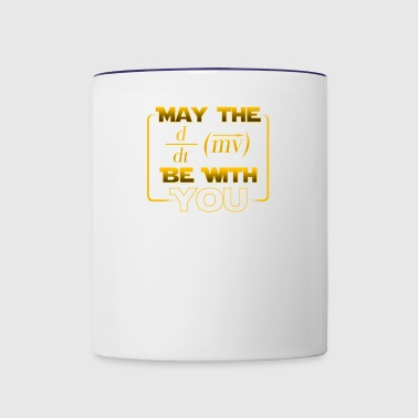 May the force be with you - gift - Contrast Coffee Mug
