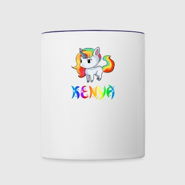 Kenya Unicorn - Contrast Coffee Mug