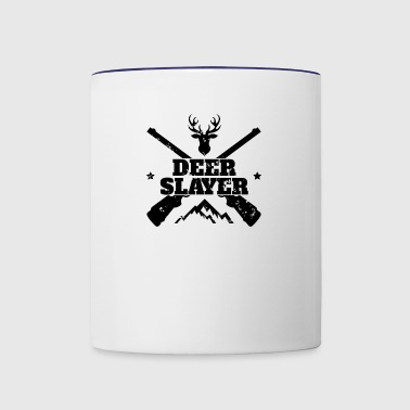 Wild Deer Hunter Deer Hunting Target Outdoor Sport - Contrast Coffee Mug