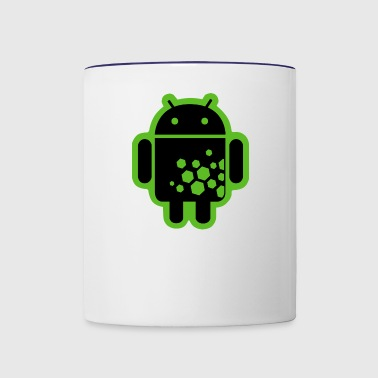 Android Hex Code - Contrast Coffee Mug