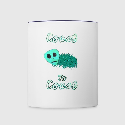 Alien Bug Juice - Contrast Coffee Mug