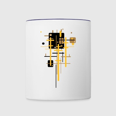 under water - Contrast Coffee Mug