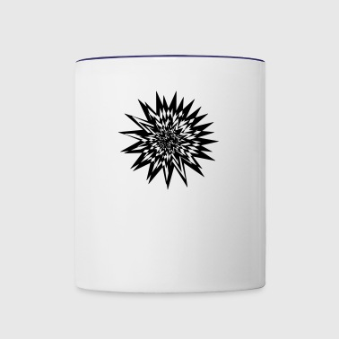 abstract - Contrast Coffee Mug
