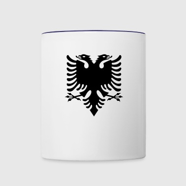 Albanian Eagle design - Contrast Coffee Mug