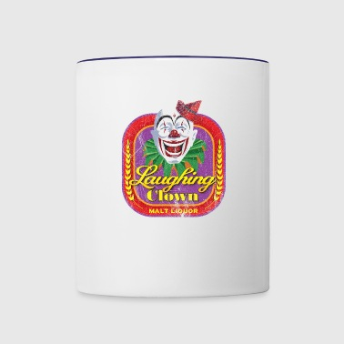 Laughing Clown Malt Liquor - Contrast Coffee Mug
