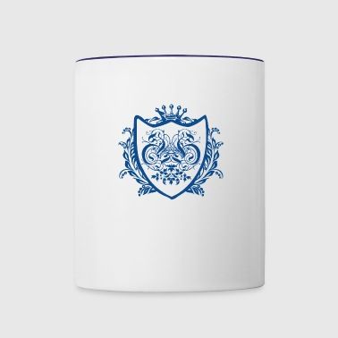 Emblem shield - Contrast Coffee Mug