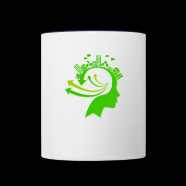 Ecology Concept Illustration - Contrast Coffee Mug
