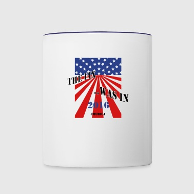 The Fix Was In - Contrast Coffee Mug