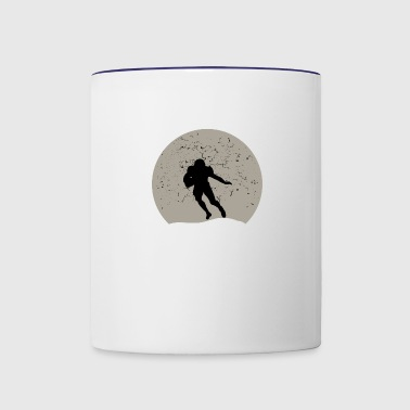 Football Full Moon - Contrast Coffee Mug