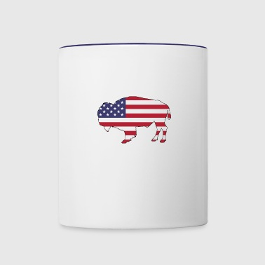 Bison - Contrast Coffee Mug