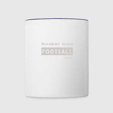 football_bright - Contrast Coffee Mug