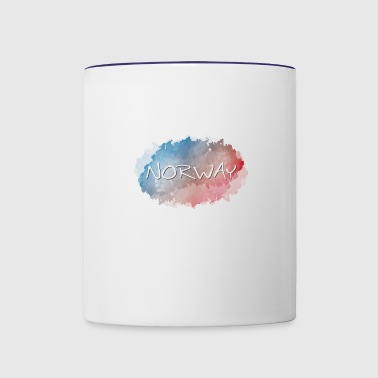 Norway - Contrast Coffee Mug
