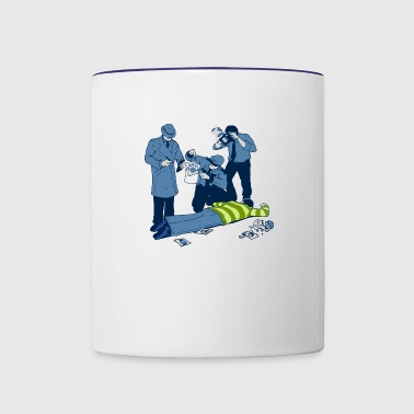 A Clue - Contrast Coffee Mug