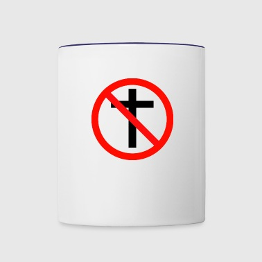 No Religion - Contrast Coffee Mug