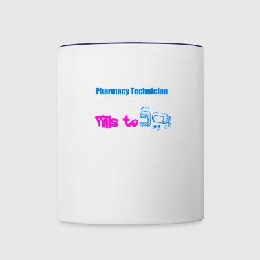 Pharmacy Technican - Contrast Coffee Mug