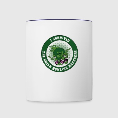 The green bowling massacre - Contrast Coffee Mug
