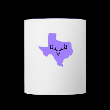 Texas - Contrast Coffee Mug
