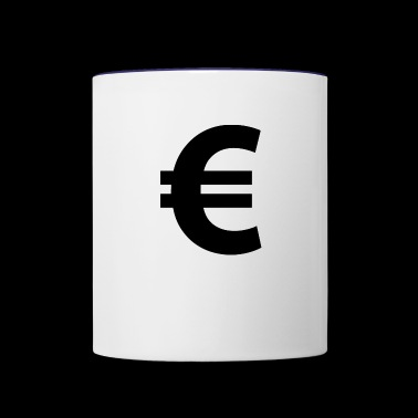 Euro Sign - Contrast Coffee Mug