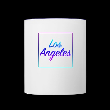 Los Angeles - Contrast Coffee Mug